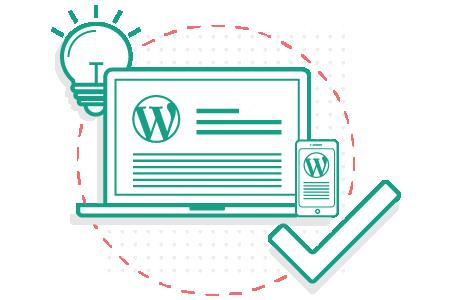 Icon für WordPress Theme Einrichtung