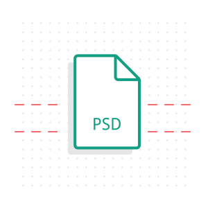 Icon PSD zu WordPress