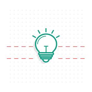 Idee Icon - Glühbirne- Einrichtung von WordPress Themes